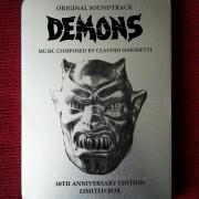 Demons Original Soundtrack - Limited Tin Box