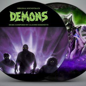 Demons Original Soundtrack Limited Picture Disc